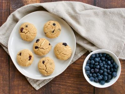 Blueberry Almond Cookies